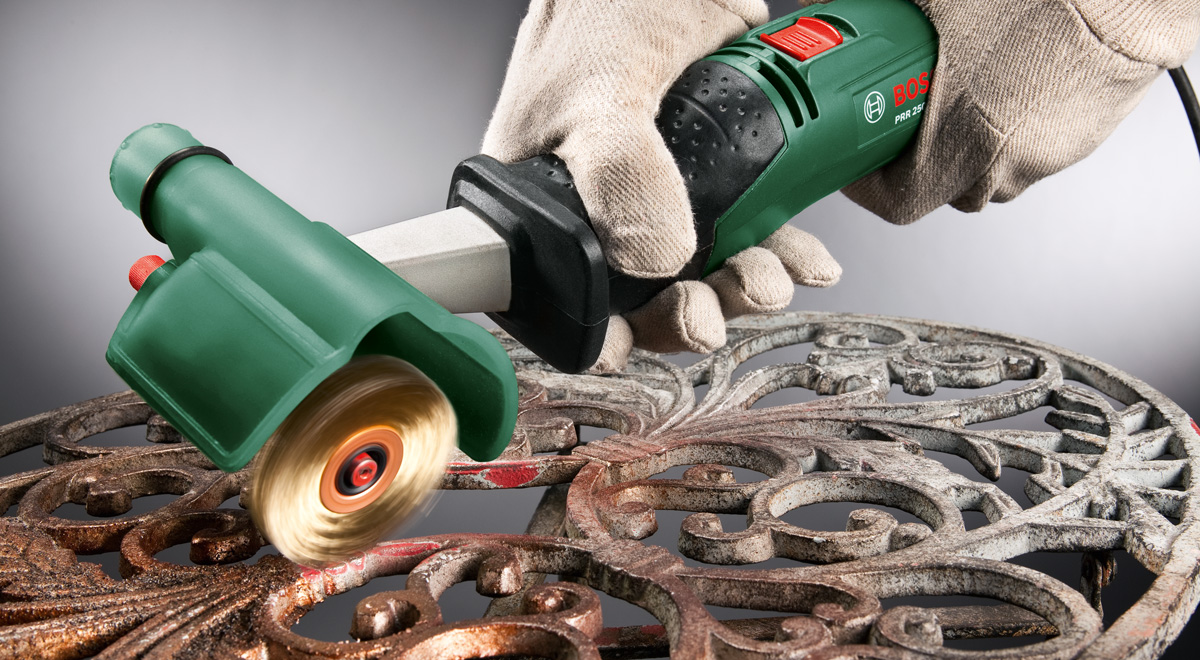 Rullo abrasivo Bosch PRR 250 ES | Recensione completa con video