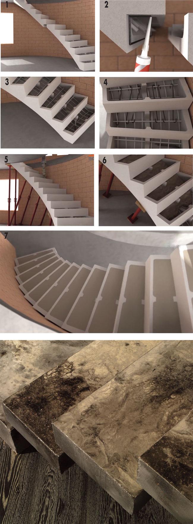 Taglio Solaio Per Scala scale prestampate - bricoportale: fai da te e bricolage