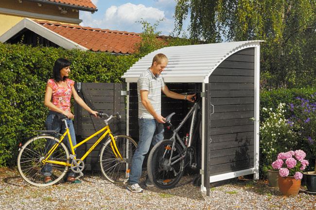 Box per biciclette fai da te bricoportale fai da te e bricolage - Box bici da giardino ...