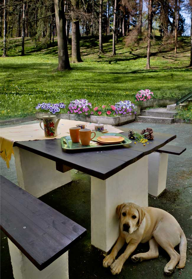Costruire un tavolo da giardino , costruire un tavolo, tavolo da giardino, tavolo fai da te, costruire un tavolo, gasbeton