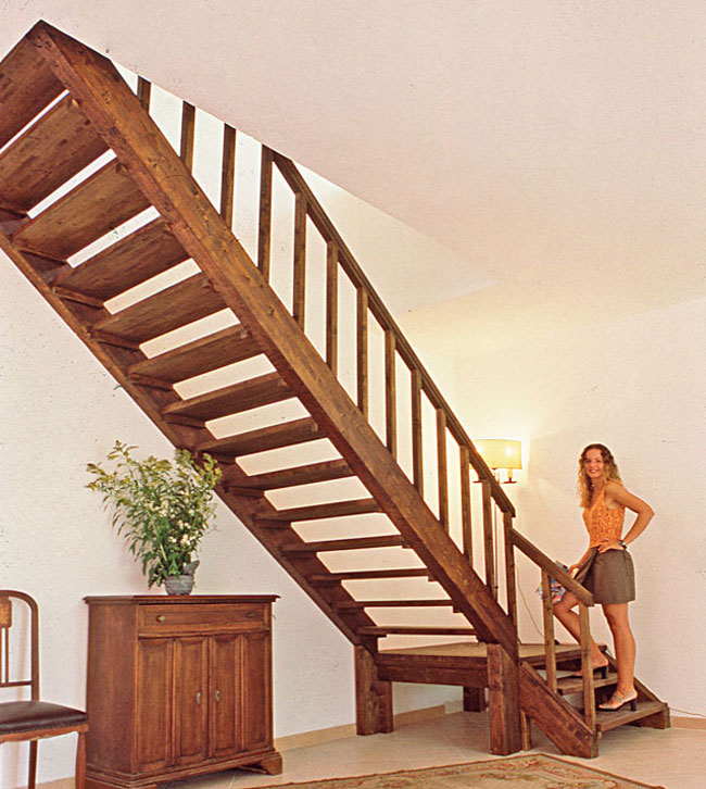 scala in legno fai da te