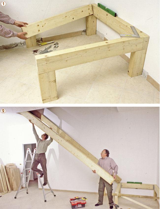 Come costruire una scala a giorno in legno blog di for Scala dei metri quadrati
