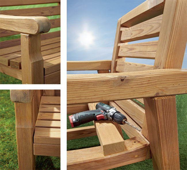 Come costruire una sedia in legno xr85 regardsdefemmes - Happy casa arredo giardino ...