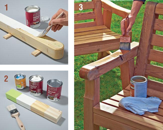 finitura del legno