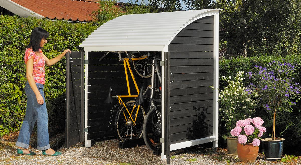 Box per biciclette fai da te