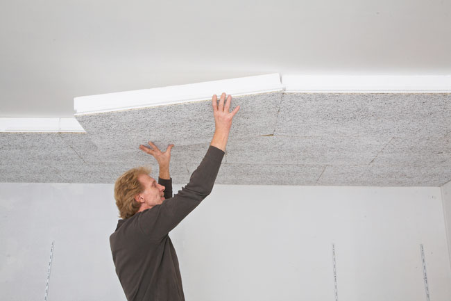 Come isolare il soffitto del garage