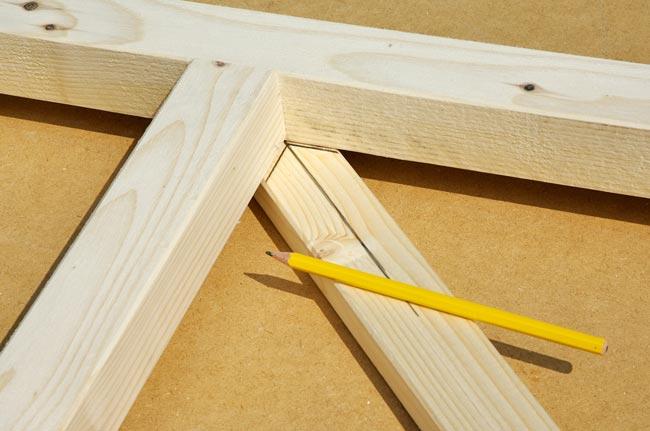 tacciare sul legno