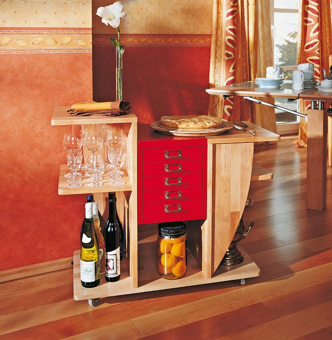 Come costruire un mobile per la cucina con rotelle - Costruire una cucina ...