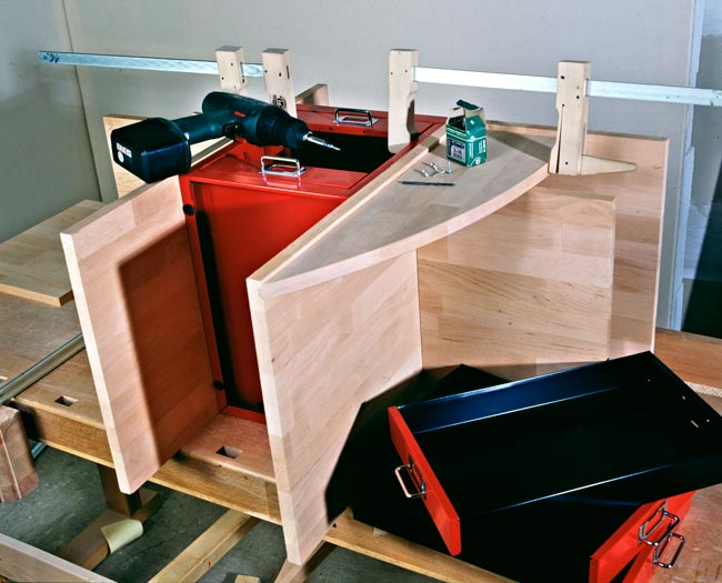 Come costruire un mobile per la cucina con rotelle bricoportale fai da te e bricolage - Costruire mobili in legno fai da te ...