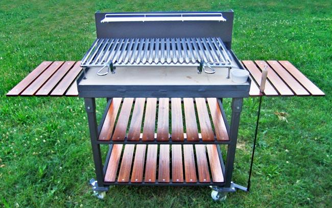come costruire un barbecue