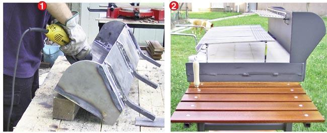 Come costruire un barbecue in ferro bricoportale fai da for Barbecue in muratura fai da te