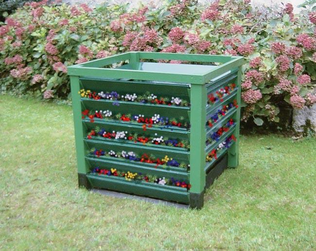 Compostiera fai da te in legno costruzione passo passo - Costruire mobili in legno fai da te ...