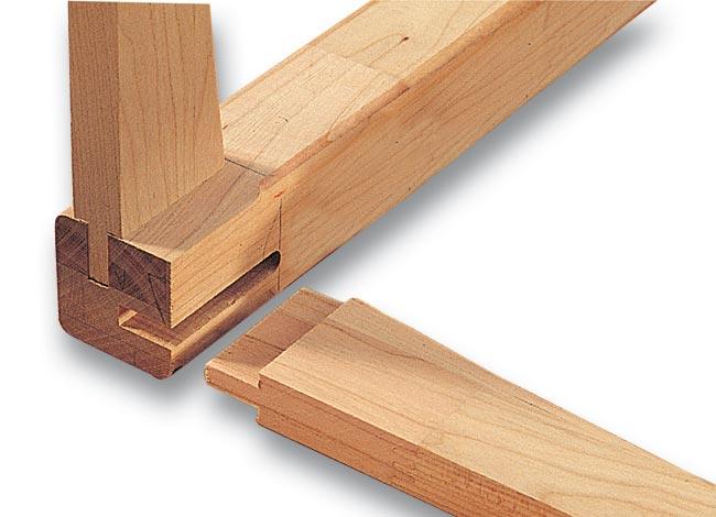 incastro legno