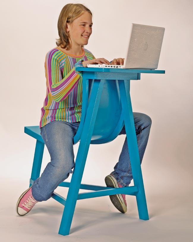 Come costruire una sedia multiuso fai da te