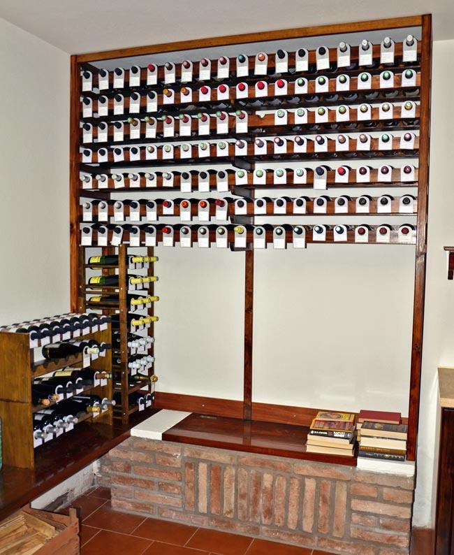 Cantinetta vino fai da te come costruirla bricoportale - Costruire mobili in legno fai da te ...