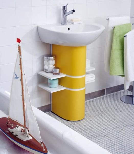 Colonna lavabo fai da te in plexiglas