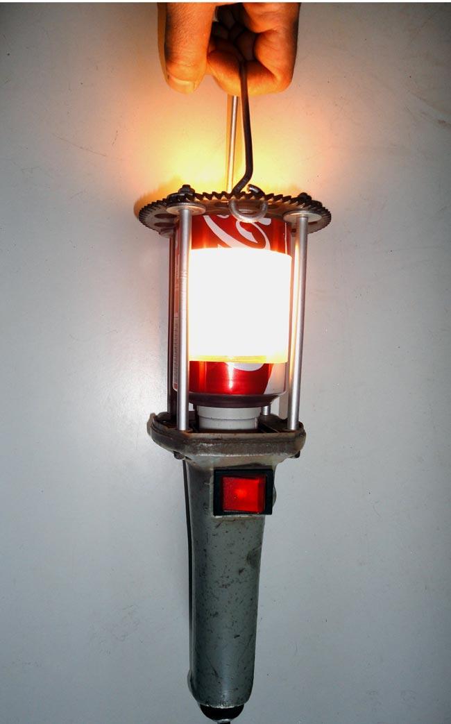Lampade Legno Riciclato: Lampade e illuminazione Bricoportale: Fai da te bricolage.