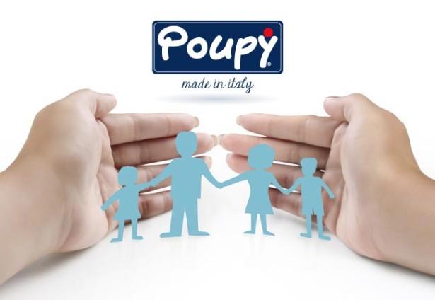Prodotti Poupy per la sicurezza dei bambini