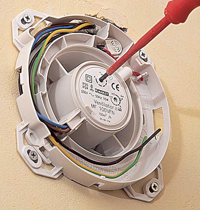 Schema collegamento aspiratore vortice schema - Aspiratore bagno senza uscita esterna ...