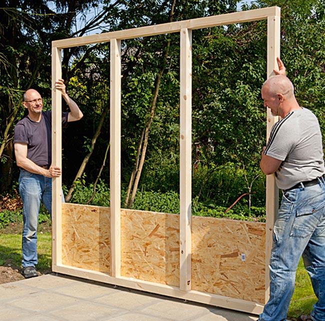 Costruire Parete Legno.Come Costruire Una Casetta Di Legno Da Giardino Guida Completa