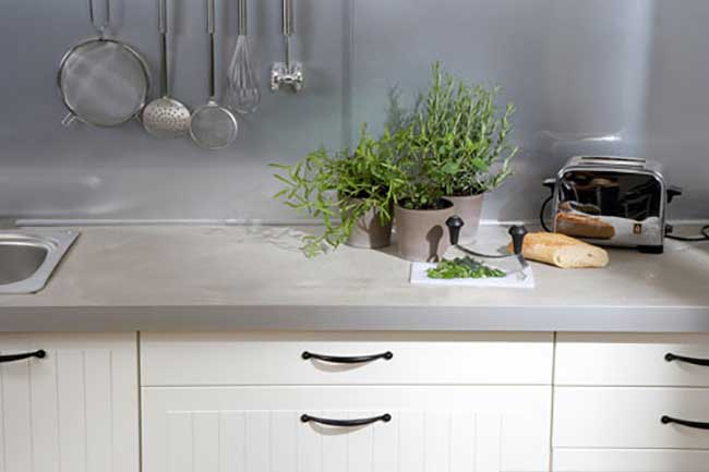 Top Cucina In Legno Fai Da Te : Piano cucina in cemento e kerdi board bricoportale fai da te e