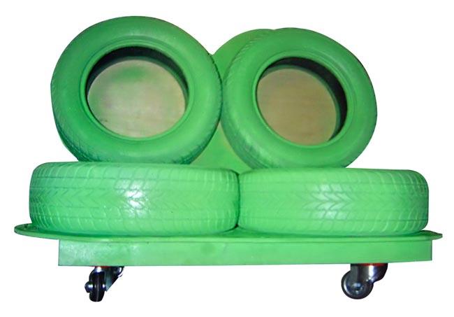 divano di pneumatici