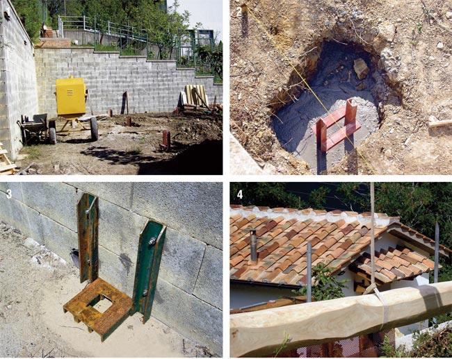 Pergolato fotovoltaico fai da te bricoportale fai da te for Pergolato in legno fai da te