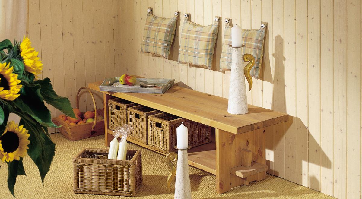 Come applicare le perline bricoportale fai da te e bricolage - Parete in legno fai da te ...