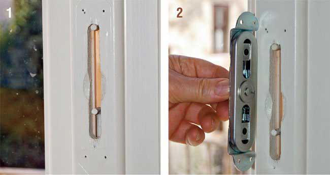 Come sostituire una maniglia senza chiamare un artigiano bricoportale - Meccanismo cremonese finestra ...