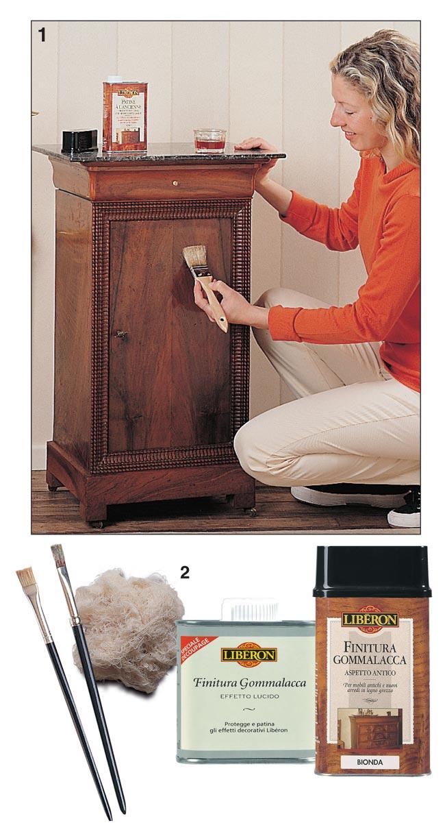 Verniciare il legno guida completa illustrata passo passo - Dipingere mobili laminato ...