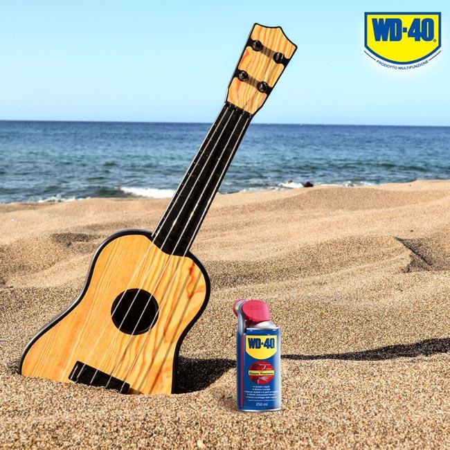 lubrificare chitarra