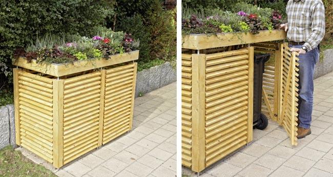 Credenza Da Giardino : Costruire una legnaia fai da te esterno con tettoia