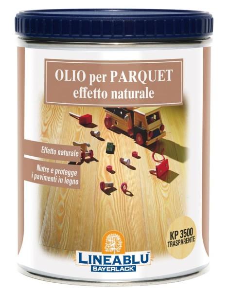 olio per parquet naturale