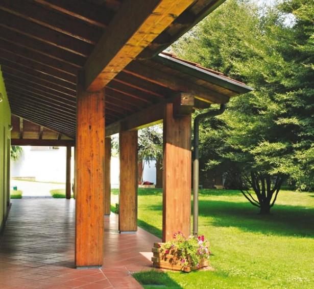 Pronto portico | Sistema per strutture addossate