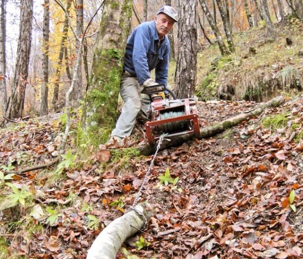 Come costruire un verricello con motosega e risparmiare
