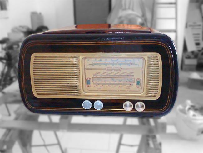 restaurare una radio a valvole