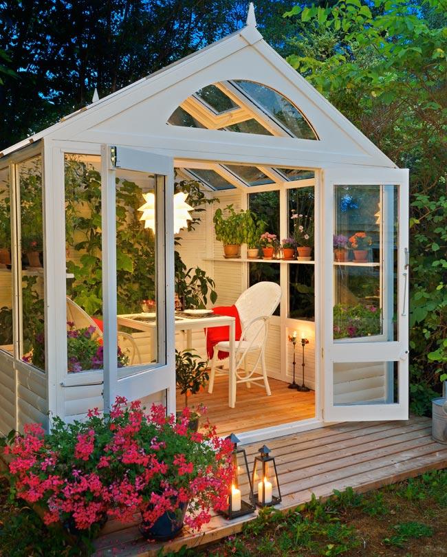 Casetta da giardino fai da te per piante ma non solo for Giardino fai da te