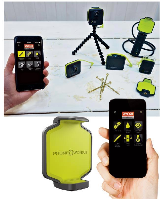 Misurare con lo smartphone | Ryobi Phone Works