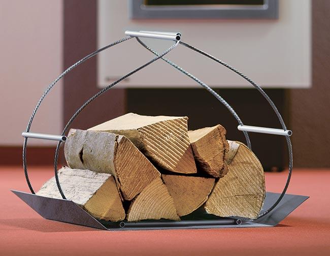 Portalegna da interno in legno cassapanca baule in legno for Cassapanca portalegna