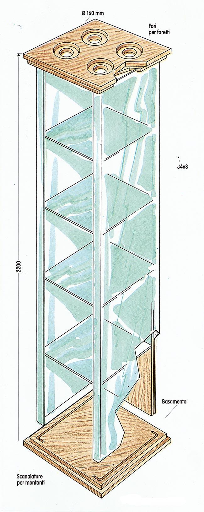 come costruire una vetrinetta