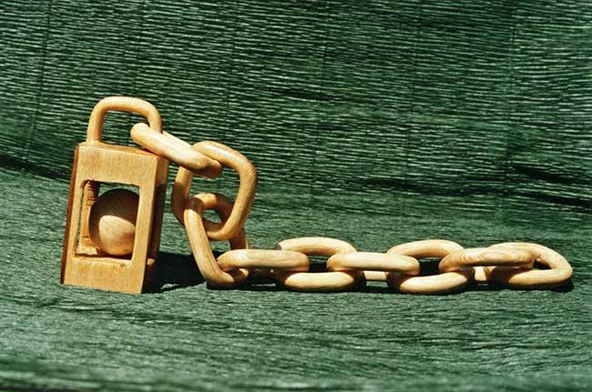 catena di legno
