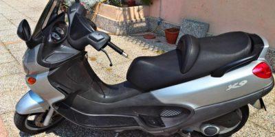 plastiche scooter