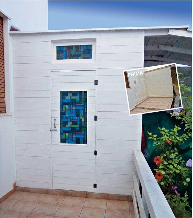 Ripostiglio fai da te in terrazza costruzione passo - Bricolage fai da te idee ...