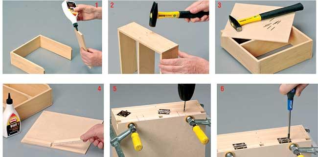 costruire una cassetta
