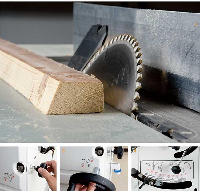 Combinata per legno guida alle operazioni di taglio for Leroy merlin taglio legno