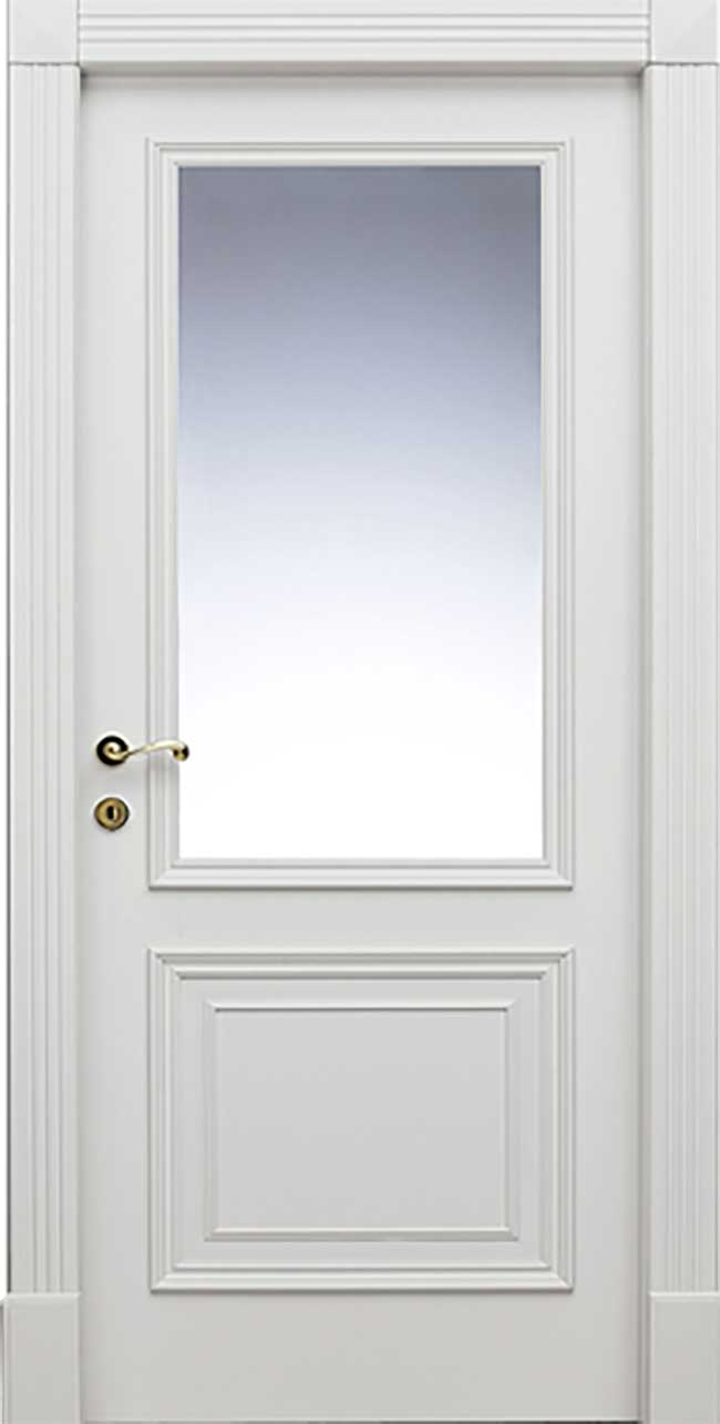 porta semivetrata