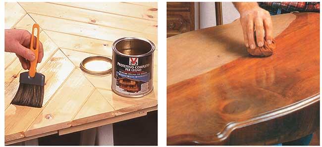 Verniciare tavolo legno lucido trattamento marmo cucina - Verniciare cucina in legno ...