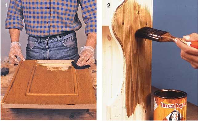 legno verniciato