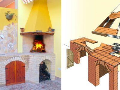 Angolo cottura in muratura