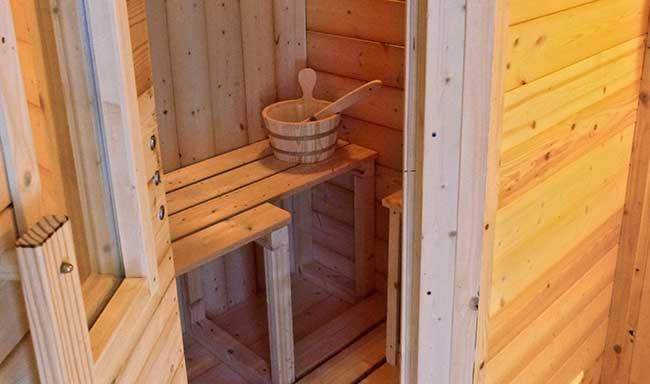 Come costruire una sauna finlandese fai da te in esterno